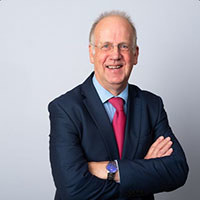A picture of POhWER Interim Chair of Trustees, Geoff Gibbs