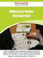 Care Act Leaflet Front Cover.