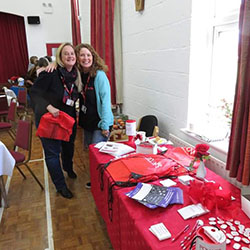 Natasha and Maria at the Vintage Coffee Morning event