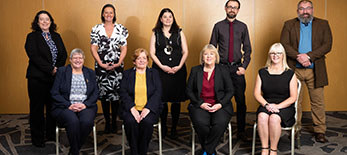 A photo of nine members of our Senior Management Team