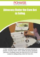 Ealing Care Act leaflet