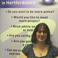 Helen, Information and Advice Support Worker in HertsHelp