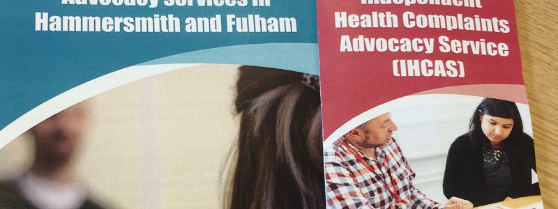 Picture of the Hammersmith and Fulham service leaflets