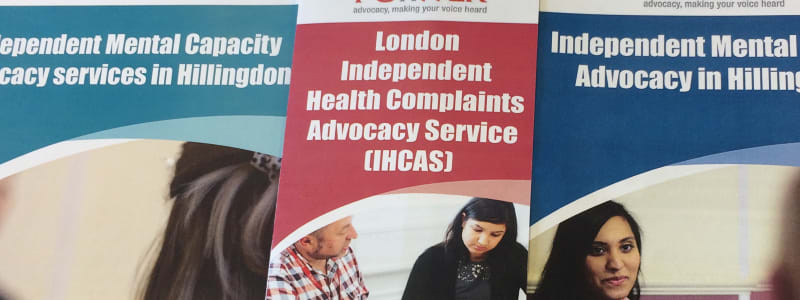 picture of the Hillingdon service leaflets