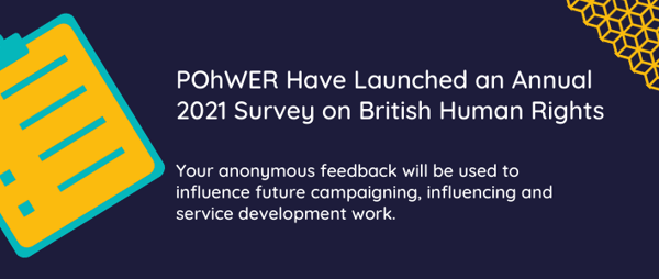 POhWER's Annual 2021 Survey on British Human Rights
